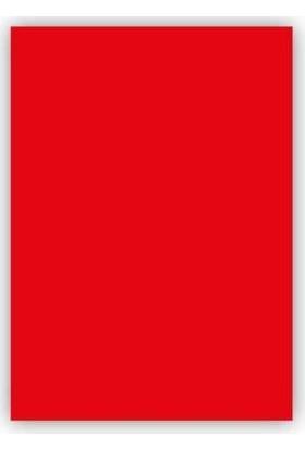 Adel Fon Kartonu Kırmızı 50X70 Cm 100 Lü (1 Paket 100 Adet)