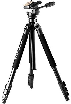 Weifeng Wf-6663A Profesyonel Tripod Canon Nikon Sony Uyumlu