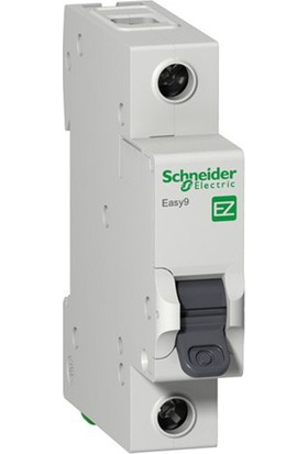 Schneider Electric Easy9 3 kA C Eğrisi 1 Kutup 20A Otomatik Sigorta