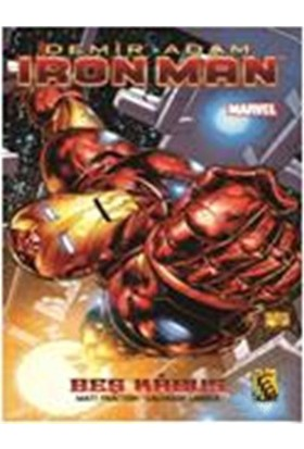 Demir Adam – Iron Man - Cilt 1 – Beş Kabus - Salvador Larocca