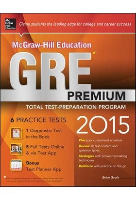 McGraw-Hill's Education GRE Premium 2015 - Erfun Geula