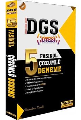 Tasarı Akademi Yayınları 2019 DGS Ötesi 5 Deneme Çözümlü
