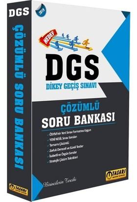 Tasarı Akademi Yayınları 2019 DGS Hedef Çözümlü Soru Bankası