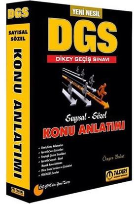 Tasarı Akademi Yayınları 2019 DGS Yeni Nesil Konu Anlatımlı Tek Kitap
