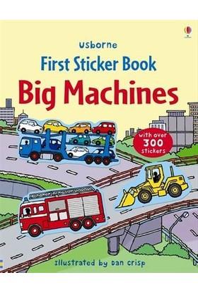 Big Machines Sticker Book - Felicity Brooks