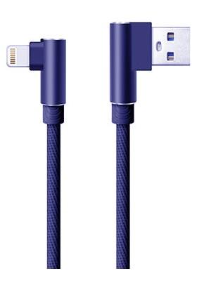Twinix Lightning USB Şarj Kablo 90 Derece Data Kablo