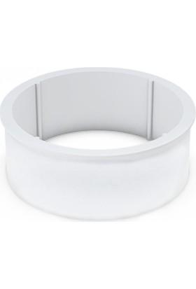 Cici Piknik Tip Plastik Peynir Kalıbı - 500 gr (100x72 mm)