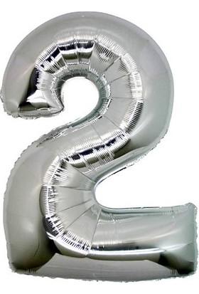 Party Marty 2 Rakam Folyo Balon 102 cm