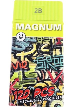 Magnum 0.7 Mm Versatil Kalem Ucu 2B Min 120'Li 60 Mm C-04