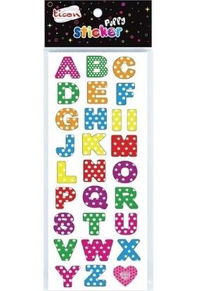 Ticon Sticker Puffy 292724 (Kabartmalı) Tps-52