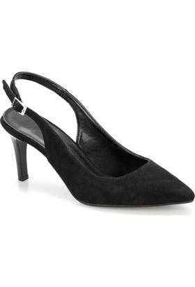 137542cfa40fc Miss F Ds19073 Siyah Kadın Gova Ayakkabı ...