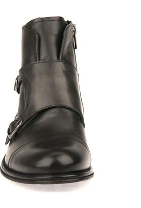 Uniquer Erkek Hakiki Deri Ayakkabı 8343U 17902 Antrasıt