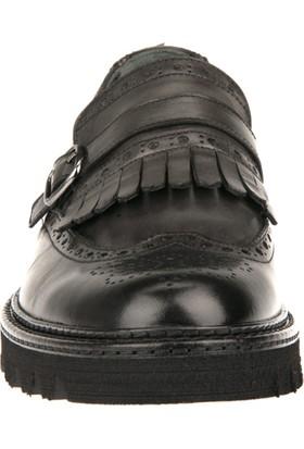 Uniquer Erkek Hakiki Deri Ayakkabı 8343U 18792 Antrasıt