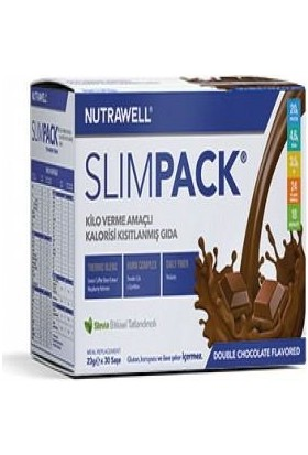 Nutrawell Slimpack Double Chocolate Flavored 23gr*30sase