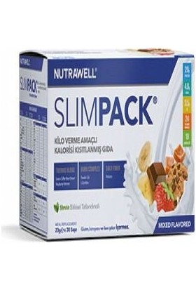 Nutrawell Slimpack Mixed Flavored 23gr*30sase