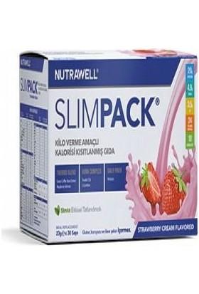 Nutrawell Slimpack Strawberry Cream Flavored 23gr*30sase