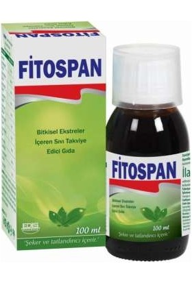 Fitospan Bitkisel Şurup 100 ml