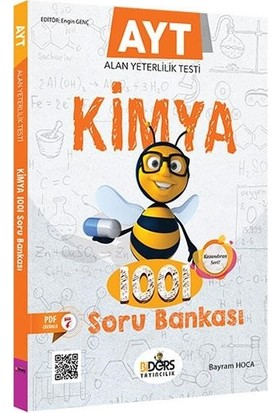 Biders Ayt Kimya 1001 Soru Bankası-Yeni