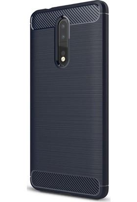 Case Street Nokia 8 Kılıf Room Silikon Lüx Darbe Emici Case Lacivert