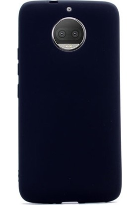 Case Street Lenovo Moto G5S Kılıf Premier Silikon Kılıf+Nano Glass Koruyucu Siyah