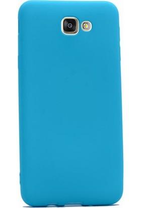 Case Street Samsung Galaxy J5 2015 Kılıf Premier Silikon Kılıf Mavi