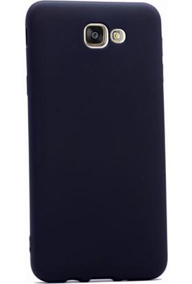 Case Street Samsung Galaxy J5 2015 Kılıf Premier Silikon Kılıf+Nano Glass Koruyucu Siyah