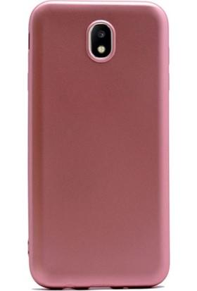 Case Street Samsung Galaxy J7 Pro Kılıf Premier Silikon Kılıf Bronz