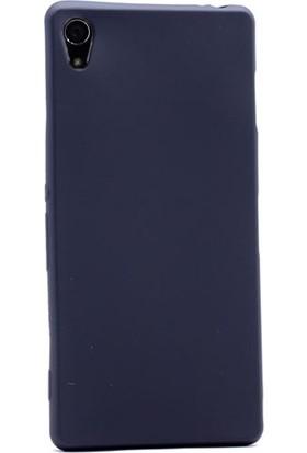 Case Street Sony Xperia Z2 Kılıf Premier Silikon Kılıf Mat Silikon Kılıf Siyah