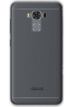 Case Street Asus ZenFone 3 Max ZC553KL Kılıf 02 mm Silikon+Nano Antrasit