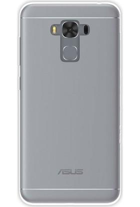 Case Street Asus ZenFone 3 Max ZC553KL Kılıf 02 mm Silikon+Nano Şeffaf
