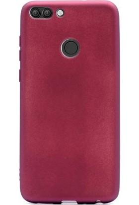 Case Street Asus Zenfone Max Plus ZB570TL Kılıf Premier Lüx Silikon Mürdüm