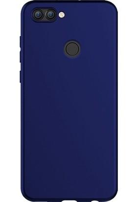 Case Street Asus Zenfone Max Plus Kılıf Premier Silikon+Nano Glass+Kalem Lacivert
