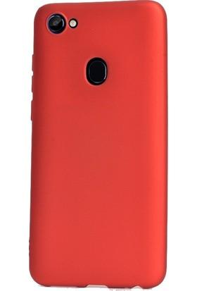Case Street Casper Via G3 Kılıf Premier Silikon Esnek Arka Koruma+Nano Glass Kırmızı