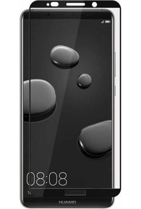 Case Street Huawei Mate 10 Pro Full Kapatan Renkli Cam Siyah