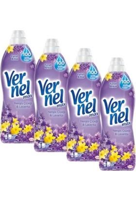 Vernel 960 ml 4'lü Set Nergiz Çiçeği Lavanta