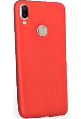 Gpack Casper Via G3 Kılıf Premier Silikon Esnek Koruma+Nano Glass Kırmızı