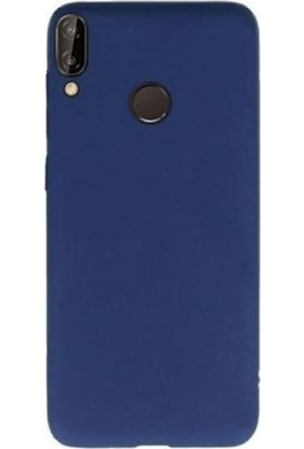 Gpack Samsung Galaxy A40 Kılıf Premier Silikon Esnek Arka Koruma Lacivert