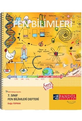 Pandül Yayınları 7. Sınıf Fen Bilimleri Defter