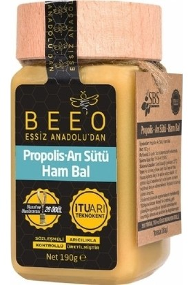 Beeo Propolis Arı Sütü Ham Bal Karışımı 190 Gr
