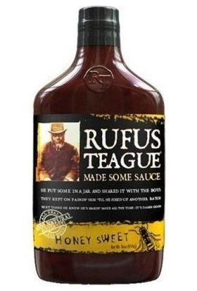 Rufus Teague Honey Sweet Bbq Sos 454Gr