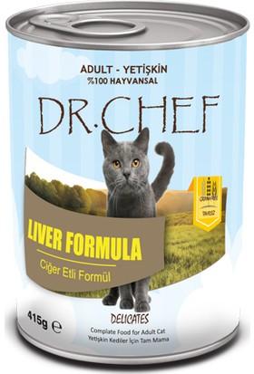 Dr.Chef Tahılsız Ciğerli Kedi Konserve 415 Gr