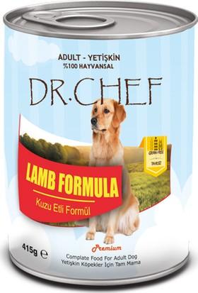 Dr.Chef Tahılsız Kuzu Etli Köpek Konserve 415 Gr