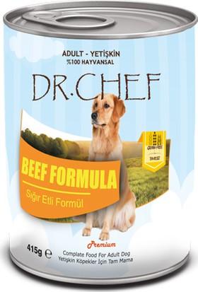 Dr.Chef Tahılsız Sığır Etli Köpek Konserve 415 Gr
