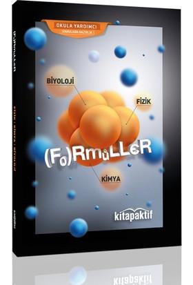 Kitap Aktif Biyoloji Fizik Kimya Formüller Cep Kitabı