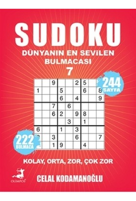 Sudoku 7- Dünyanın En Sevilen Bulmacası - Bertan Kodamanoğlu