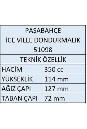 Paşabahçe Paşabahçe 6'lı İce Ville Dondurmalık 51098