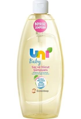 Uni Baby Bebek Saç ve Vücut Şampuanı 500 ml