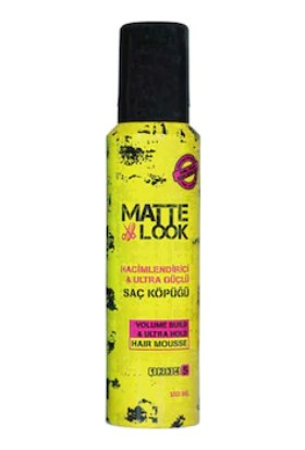 Matte Look Hacimlendirici Saç Köpüğü 150 ML