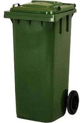 Zeyrek Plastik Çöp Konteyner 120 Litre Yeşil