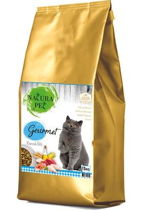 Natura Pet Gourmet Karışık Yetişkin Kedi Maması 15 kg